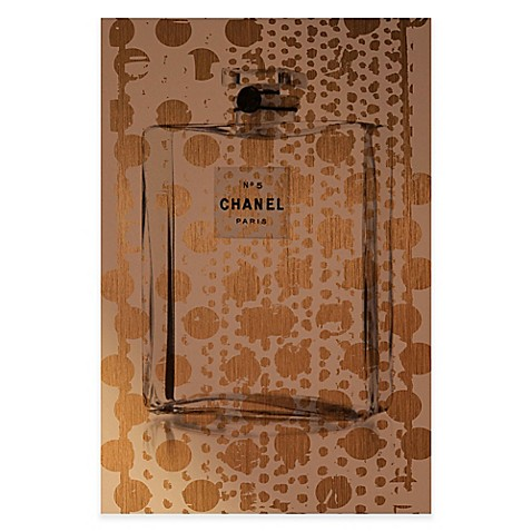 buy marmont hill gold spotted perfume 60 inch x 40 inch canvas wall art from bed bath beyond. Black Bedroom Furniture Sets. Home Design Ideas