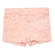 image of Margherita Kids Daisy Embroidered Short in Pink