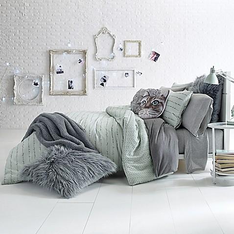 Glam Script Reversible Comforter Set Bed Bath Amp Beyond