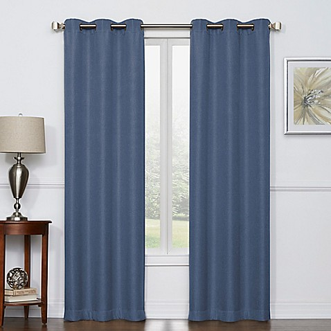 window curtains u0026 drapes grommet rod pocket u0026 more styles bed bath u0026 beyond