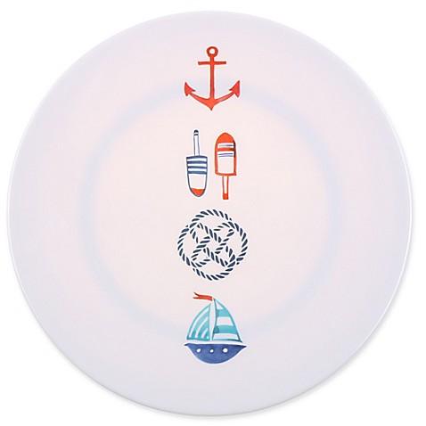Seaside Life Icons Melamine Dinner Plate Bed Bath Amp Beyond