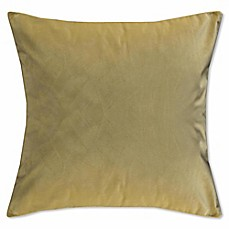 image of Solid Knit Velvet Square Throw Pillow
