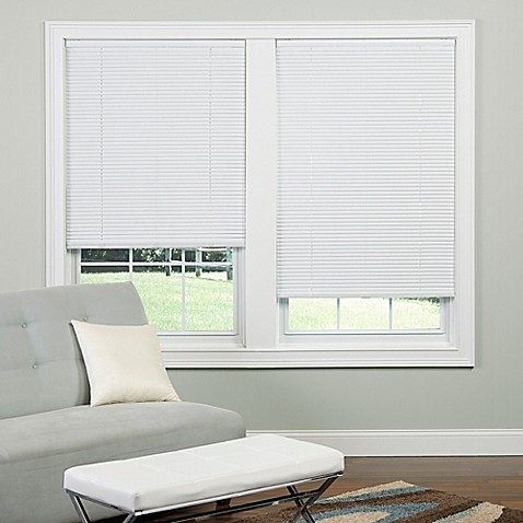 1 Inch Cordless Mini Blinds Bed Bath Amp Beyond