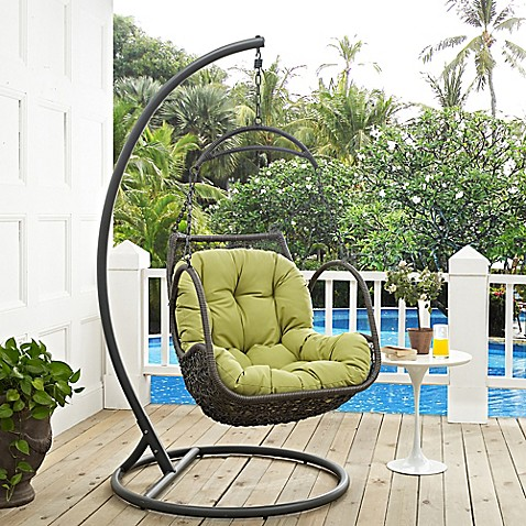 Modway Arbor Patio Stand Alone Swing Chair Bed Bath Amp Beyond