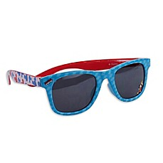 image of On The Verge Disney® Mickey Mouse Sunglasses in Blue/Red