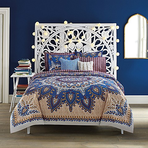 Anthology Marrakesh Vibe Reversible Comforter Set Bed