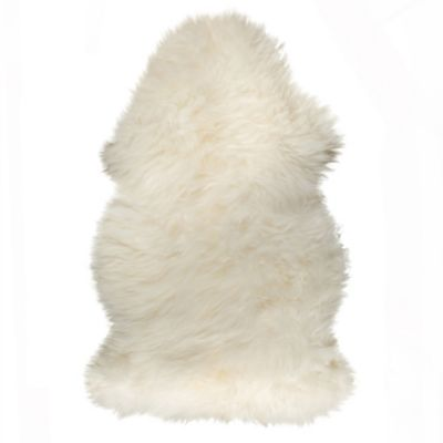 image of Natural 100% New Zealand Sheepskin Accent Rug