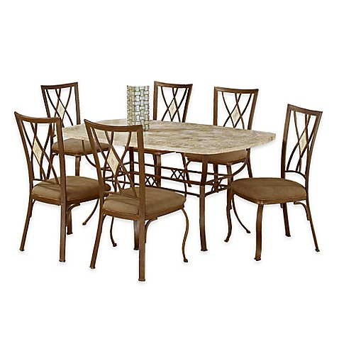 Hillsdale Furniture Brookside Rectangle Dining Set With Diamond Back Chairs I