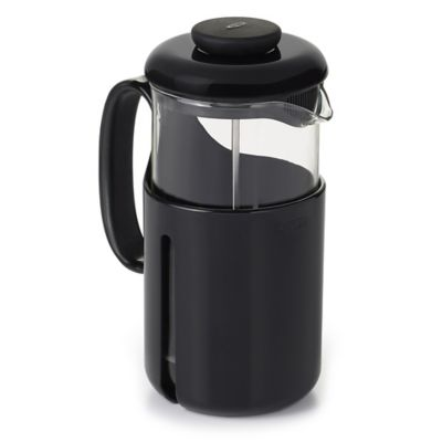 OXO Good Grips Venture 8-Cup French Press Coffee Maker in Black/Clear - Bed Bath & Beyond