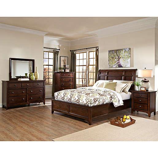 Intercon Jackson Bedroom Furniture Collection In Raisin Bed Bath Beyond