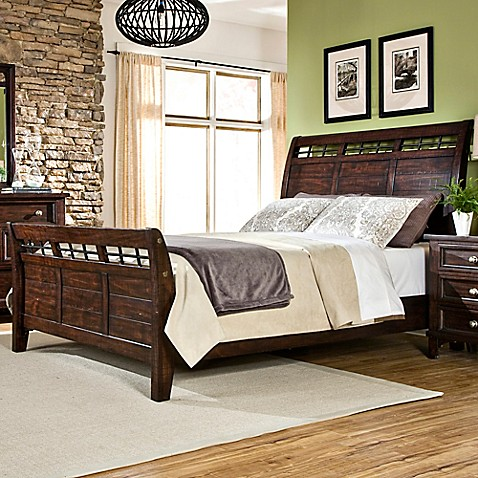 Intercon Furniture Hayden Sleigh Bed Bed Bath & Beyond