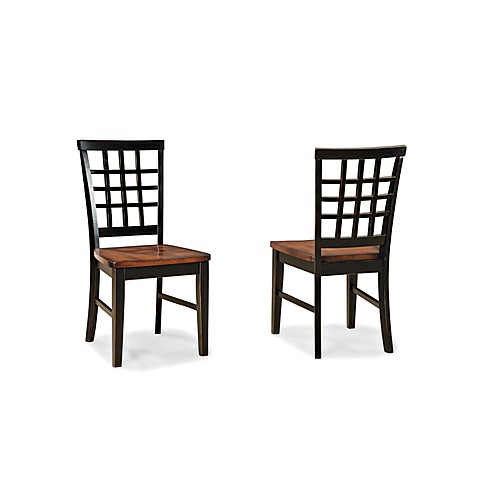 Intercon Furniture Arlington Lattice Back Side Chair Set