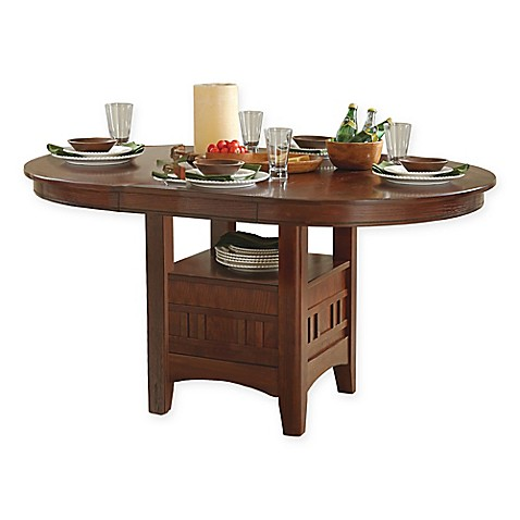 Intercon Furniture Mission Casuals Dining Table in Dark