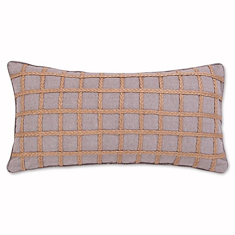 Buy Levtex Home Miren Rope Oblong Throw Pillow in Grey from Bed Bath & Beyond