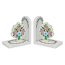 image of Fantasy Fields Bouquet Bookends Set