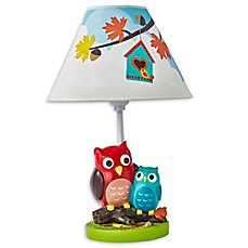 image of Fantasy Fields Enchanted Woodland Kids' Table Lamp