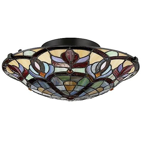 Buy Quoizel Garland 2 Light Large Pendant Ceiling Fixture
