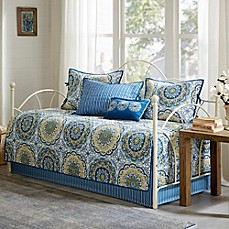 image of madison park tangiers daybed set in blue