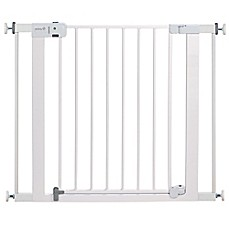 image of safety 1st easy install autoclose walkthru gate in white