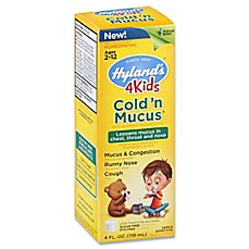 image of Hyland's® 4 oz. 4 Kids Cold 'n Mucus