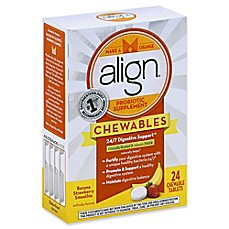 image of Align® Jr. 24-Count Probiotic Supplement Chewables for Kids in Banana Strawberry
