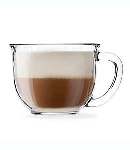 Taza para latte de vidrio Gourmet Libbey®