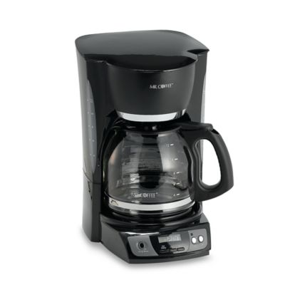 Coffee Maker Coffee Recipe : Mr. Coffee 12-Cup Programmable Coffee Maker - Bed Bath & Beyond