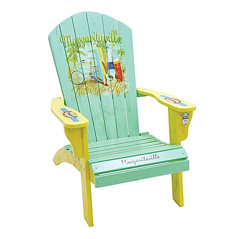 Charming Image Of Margaritaville® Outdoor Classic Wood Adirondack Chair