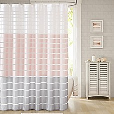 image of Demi Shower Curtain in Blush