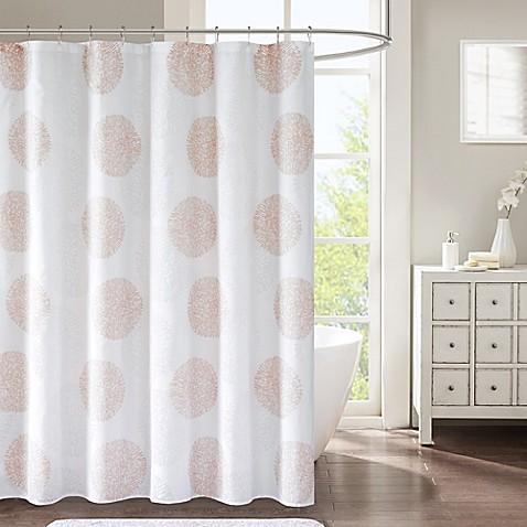 Lisbon Shower Curtain In Blush Bed Bath Amp Beyond