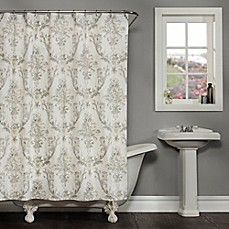 image of Fonseca Shower Curtain in Ivory