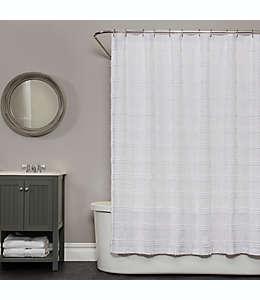 Cortina para baño con diseño decorativo tejido 182.88 cm x 182.88 cm