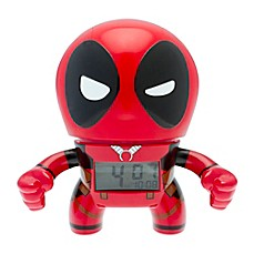 image of Marvel® BulbBotz™ Deadpool Alarm Clock