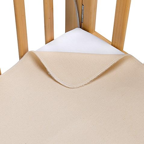 Naturepedic 174 Organic Cotton Waterproof Flat Portable Crib
