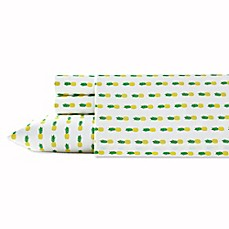 image of Poppy & Fritz® Pineapples Sheet Set