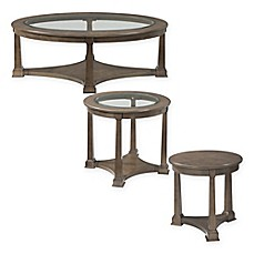 image of Bassett Mirror Company Thoroughly Modern Lyle Accent Table Collection in Drift Maple