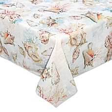 image of Bardwil Linens Shells Ashore Table Linens