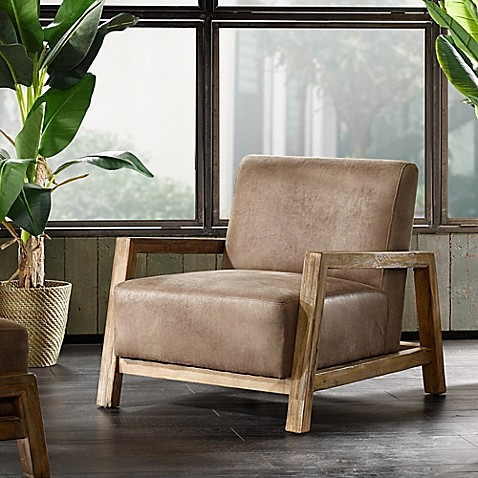 Ink Ivy 174 Easton Lounge Chair In Brown Bed Bath Amp Beyond