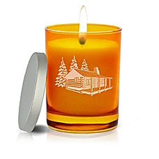image of Carved Solutions Gem Collection Cabin Soy Jar Candle