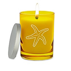 image of Carved Solutions Gem Collection Unscented Starfish Soy Wax Candle