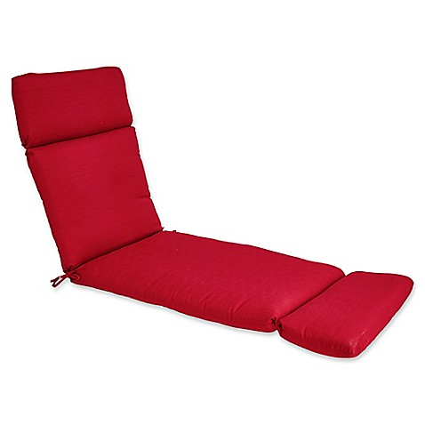 Buy outdoor forsyth chaise lounge cushion in salsa from for Buy chaise lounge cushion