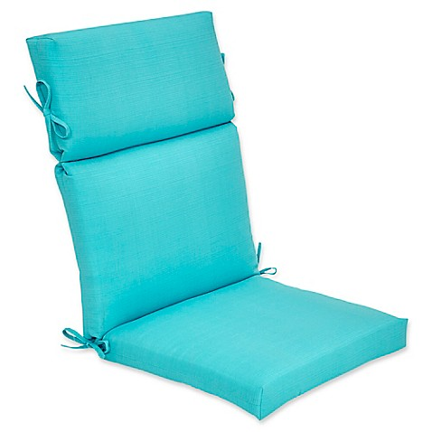 Buy Outdoor Forsyth High Back Cushion In Ocean From Bed