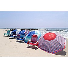 image of Nautica® 7-Foot Beach Chair and Umbrella Collection
