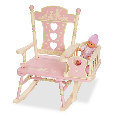 Levels Of Discovery Rock A My Baby Rocking Chair In Pink