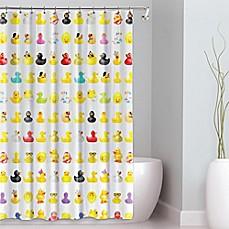 Image Of Duckies PEVA Shower Curtain