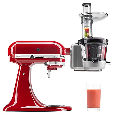 KitchenAid® Juicer and Sauce Attachment - Bed Bath & Beyond on bosch juicer attachment, citrus juicer attachment, kitchenaid sauce maker, hobart juicer attachment, kitchenaid grinder parts, cuisinart juicer attachment, magic bullet juicer attachment, oster juicer attachment, vitamix juicer attachment, magimix juicer attachment, kitchenaid 4.5 qt glass bowl, ninja blender juicer attachment, kitchenaid meat grinder sausage stuffer, kitchenaid mixer, food processor with juicer attachment,