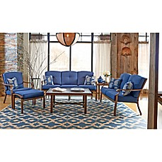 image of Trisha Yearwood Home Collection 6-Piece Conversation Set in Denim Demo