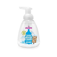 image of dapple® 13 oz. Fragrance-Free Pure 'N' Clean Foaming Baby Bottle and Dish Liquid Cleaner