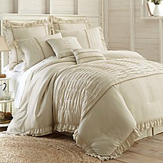image of PCT Home Antonella Jacquard 8-Piece Comforter Set in Natural