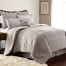 image of Camila 8-Piece Comforter Set in Taupe